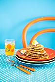 Gluten Free Savoury Buckwheat Pancakes