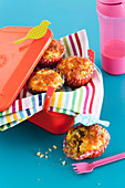 Gluten Free Pancetta and Cheese Muffins