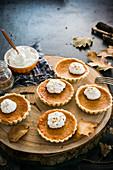 Humpkin mini pies