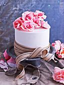 Paper Flower Cake