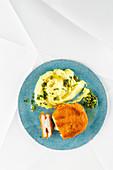Celery cordon bleu
