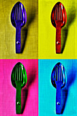 Food art: forks and spoons (inspired by Andy Warhol)