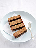 Chocolate hazelnut slice
