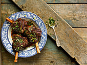 Lamb Shanks With Thyme