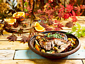 Roast Lamb With Olives and Candied Orange