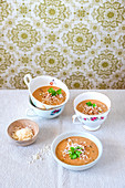 Batata cream soup