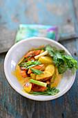 Potato curry with coriander (Asia)