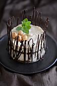 Tartlet with hazelnut cream