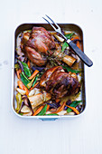 Oven cooked veal shanks