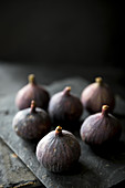 Still life of fresh figs from Turkey