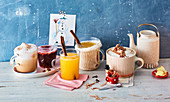 Heiße Getränke zur Weihnachtszeit