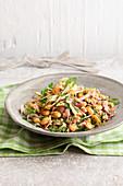 Schneller Bohnen-Fenchel-Salat mit Thunfisch
