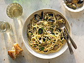 Spaghetti With Littleneck Clams