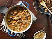 Pommery Dijon Mustard and Cognac Beef Stew