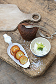Bavaria meets France – white obatzda made from goat's cheese