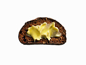 Fruit and Nut Ciabatta Toast with Butter