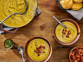 Hearty Split Pea Soup with Slab Bacon