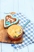 Bavaria meets England - mini roast chicken pies
