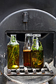 Herb and spice oil for grilling