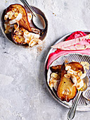 Roasted Pear with Coconut Yoghurt