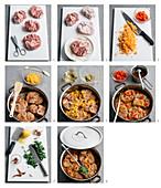 Ossobuco alla milanese (Geschmorte Kalbsbeinscheiben, Italien) zubereiten
