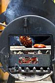 Hähnchenbrust Asia-Style auf dem Grill