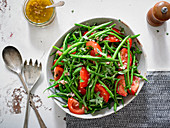 String Bean and Tomato Salad