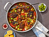 Chicken Tagine with Castelvetranos Olives
