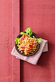 Linsen-Orangen-Salat