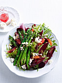 Beetroot, Asparagus and Orange Salad