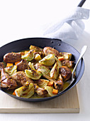 Chicken with Fennel and Orange