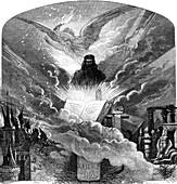 Gutenberg's Bible, conceptual image
