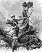 Dahomey Amazons, 19th century