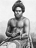Loyalty Islands man, 19th century