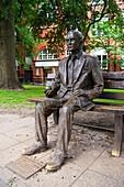 Alan Turing statue, Manchester, UK