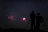 Photographing Orion and its nebulae