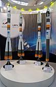 Soyuz rocket display