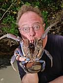 Coconut crab, Indonesia