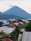 Mount Tidore, Halmahera, Indonesia