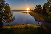 Sunrise at Lake Constance