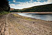 Drought-affected reservoir