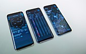 Smartphones with Galileo GPS satnav