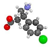 Baclofen drug molecule