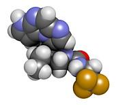 Upadacitinib drug molecule
