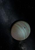 Artwork of Exoplanet CVSO 30 c