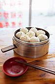 Steamed dumplings (Dali, Yunnan Province, China)
