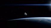 Parker Solar Probe fairing separation, animation