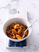Mediterranean Chicken and Fig Tagine