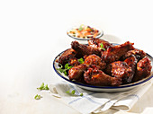 Smokey BBQ Chicken Wings