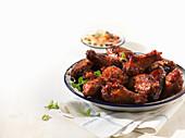 Smokey BBQ Chicken Wings